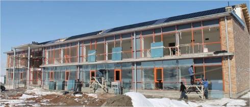 Энергоэффективная школа Таджикистан