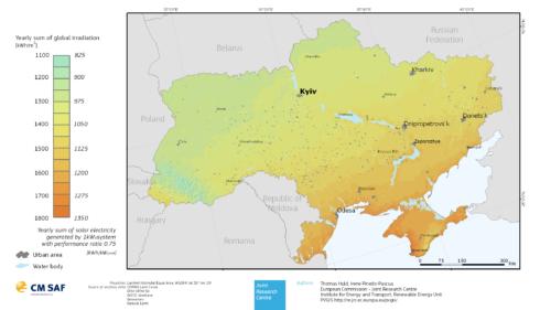 Ukraine-solar-energy